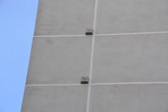 Budka pro netopýry na panel. domě v Plzni