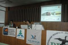 Prezentace na mezinárodní konferenci ve Zvoleně.