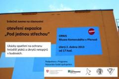 Pozvánka na otevření expozice v Přerově