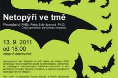 Plakate Netopýři ve tmě 13.9.2011
