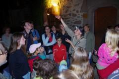 Netopýří noc na hradě Lipnice 2011.